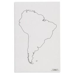Южна Америка: Очертания на континента (50)