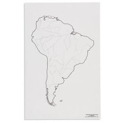 Южна Америка: Реки (50)