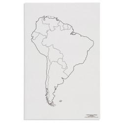 Южна Америка: Политическа (50)