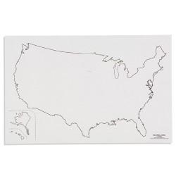 САЩ: Очертания(50)