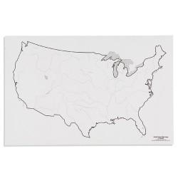 САЩ: Реки (50)