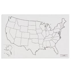 САЩ: Държавни граници (50)