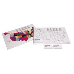United States Location Color Set