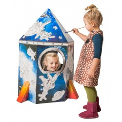 Картонена къщичка за игра   Educo   с картинка