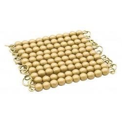 Golden Bead Chain Of 100