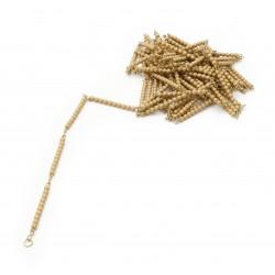 Golden Bead Chain Of 1000