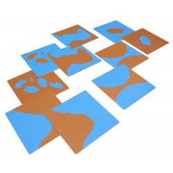 Комплект карти 1 сухоземни и водни релефни форми