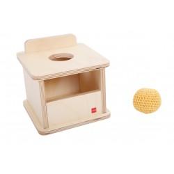 Кутия за вгнездяване с плетено топче