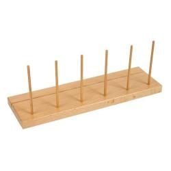 Намерете и пребройте - Допълнителна дървена стойка (6 колчета)