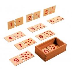 Пъзел с числата от 1 до 10