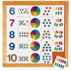 Рамка за броене от 6 до 10