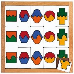 Сортиране на форми и цветове