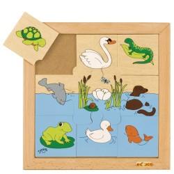 Пъзел с водни животни