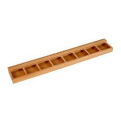 Дървена стойка за игра (49 х 8 см)
