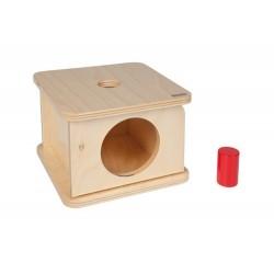 Кутия за вгнездяванес малък цилиндър
