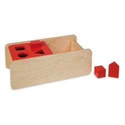Кутия за вгнездяване с капак - 4 фигури