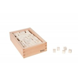 Кутия с кубчета за Розова кула