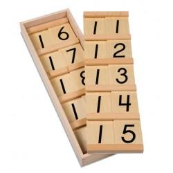 Табла за с цифрите от 11 до 19