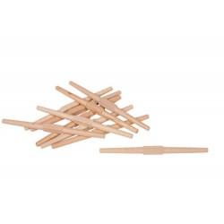 Вретеновидни дървени пръчки (10бр)