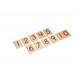 Карти с цифри