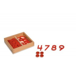 Cut-out numerals & counters