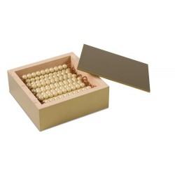 Кутия с 45 златни пръчици в кутия (гланц)