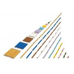 Short bead chains: Individual beads nylon