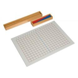 Subtraction strip board