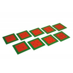 Метални квадрати (9бр)