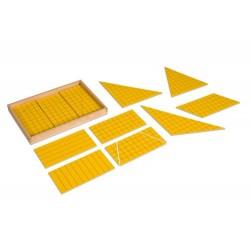 Жълти триъгълници за площ