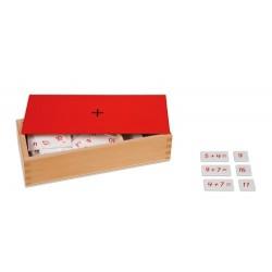 Кутия с уравнения със събиране и суми