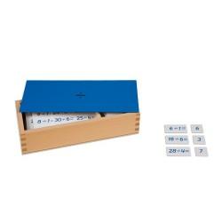 Кутия с уравнения с деление и частните