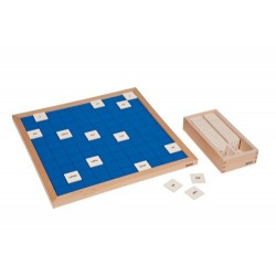 Hundred board with roman numerals